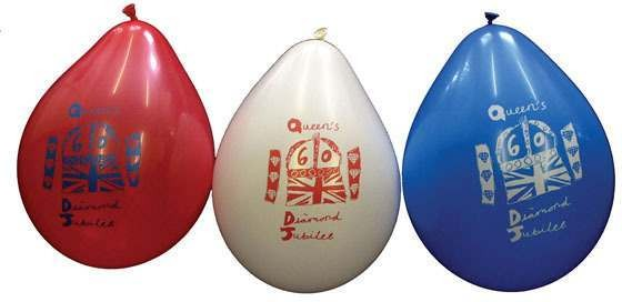 Jubilee Balloons (10 In A Pkt) Accessories