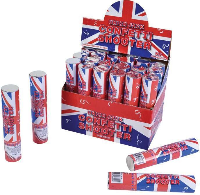 Union Jack Confetti Shooter Accessories