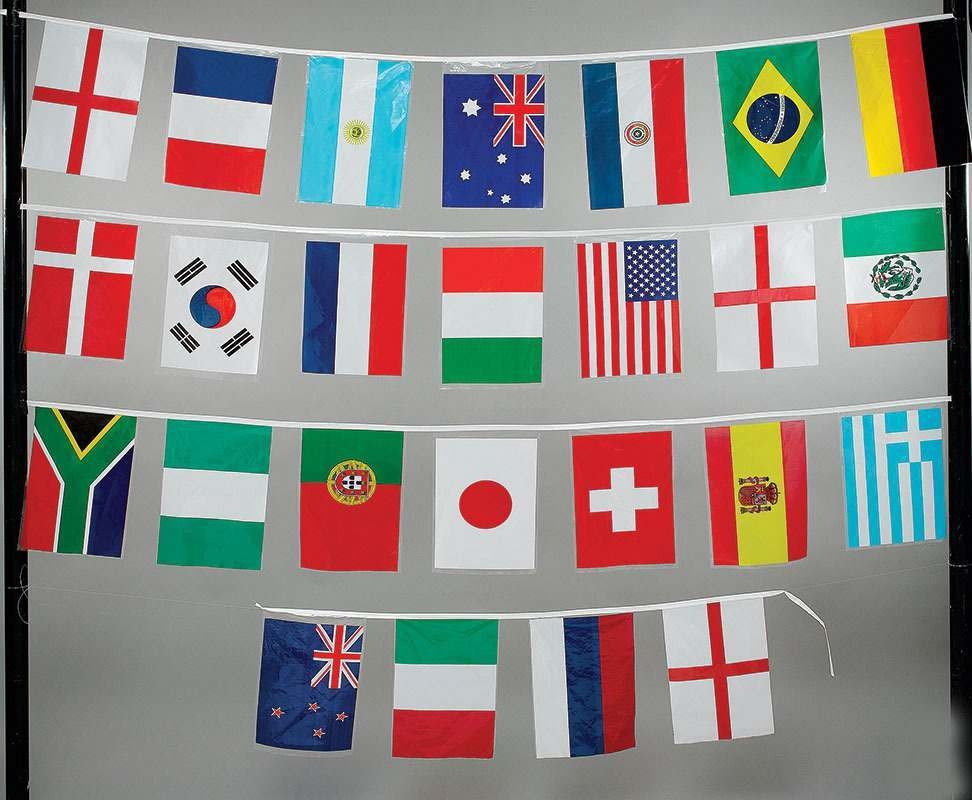 World Cup Bunting (Fancy Dress)