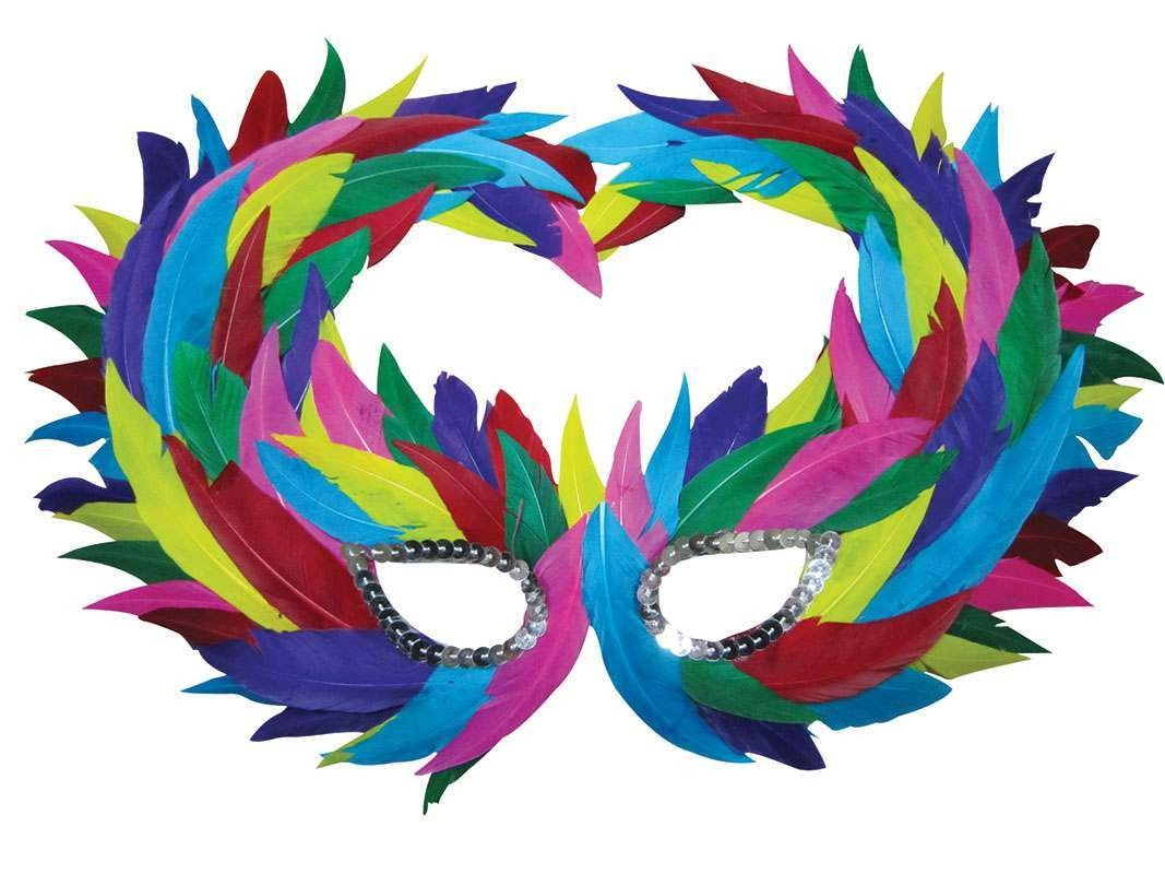 Multi Colour (Fancy Dress Eyemasks)