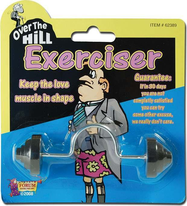 Over Hill Exerciser (Hen & Stag Fancy Dress)