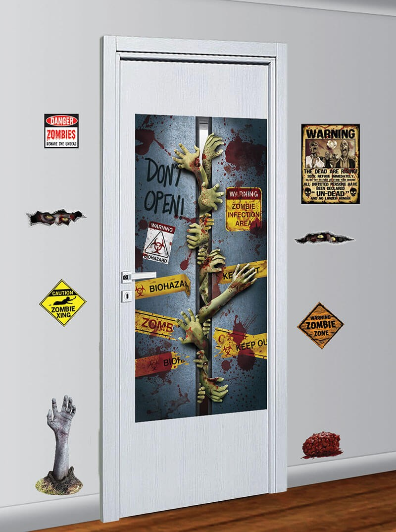Zombie Decoration Kit Halloween Fancy Dress Accessory