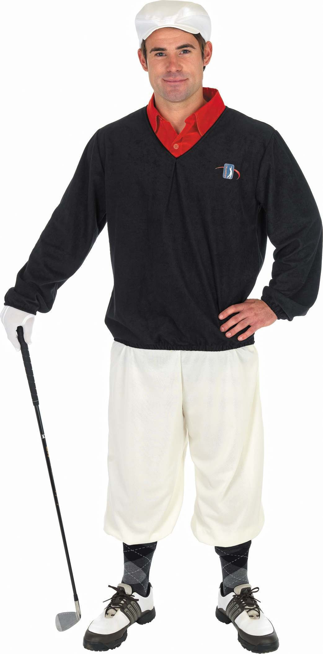 Golfer Fancy Dress Costume