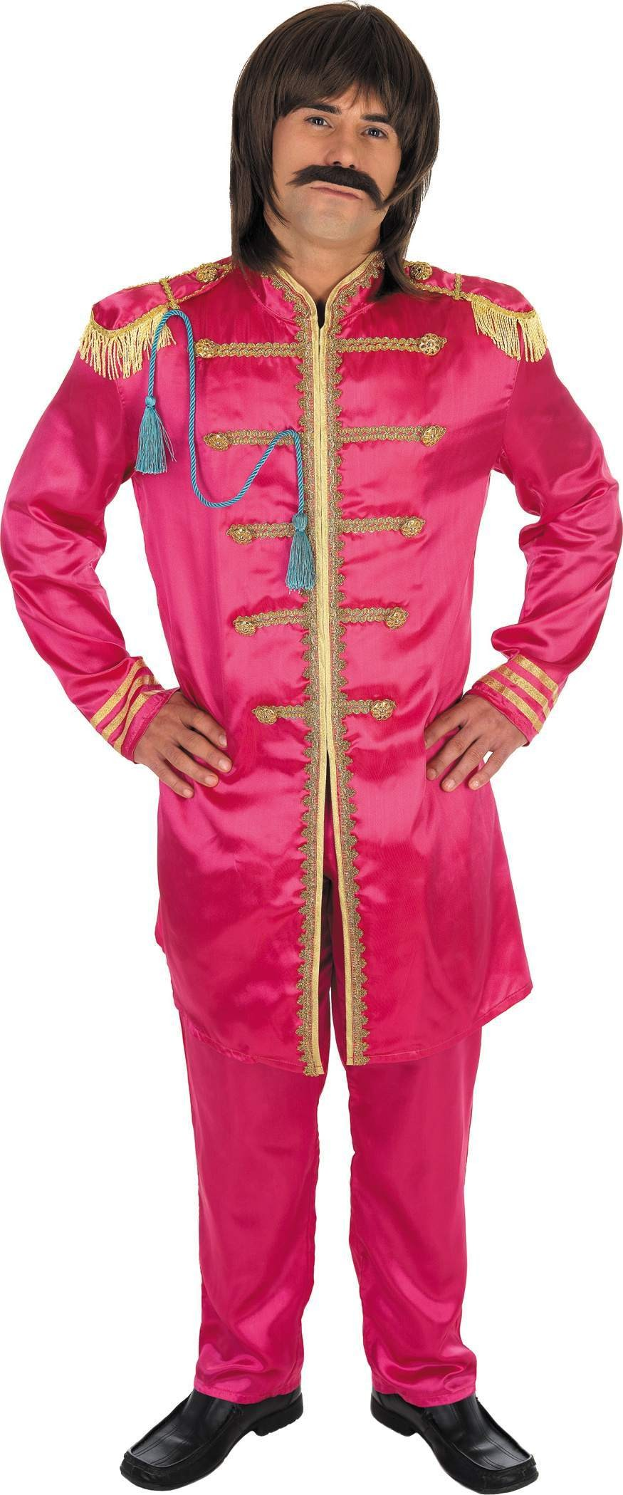 Pink Pop Sergeant Fancy Dress Costume