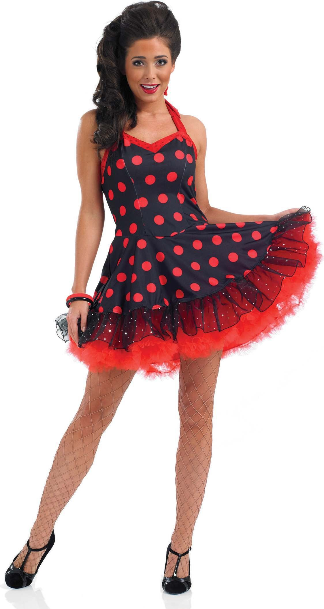 Rock And Roll Dress Fancy Dress Costume