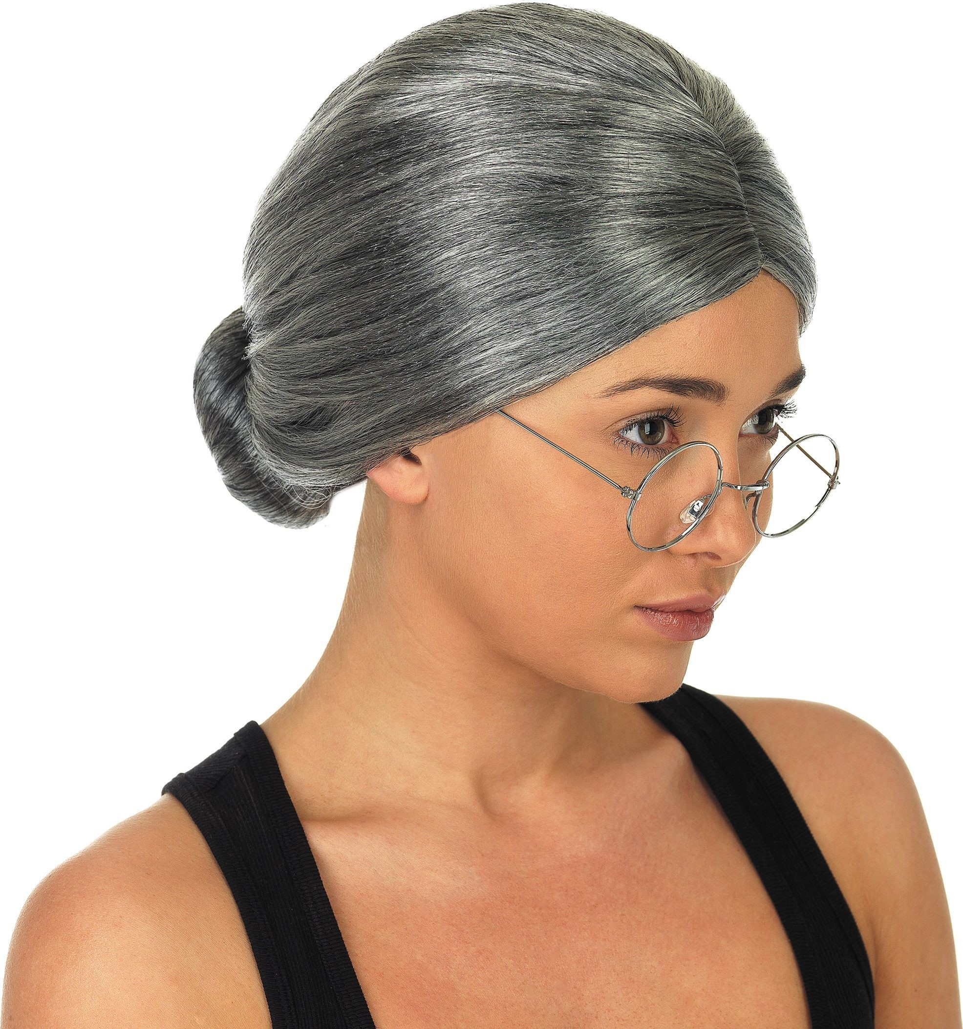 Granny Wig (Fancy Dress Wigs)