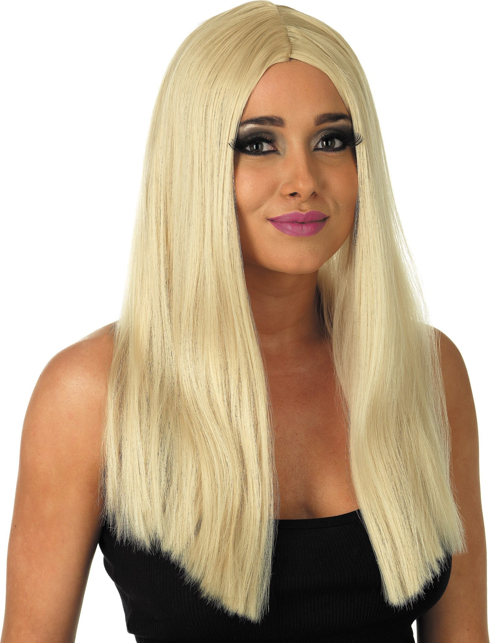 Long Blonde Wig (Fancy Dress Wigs)