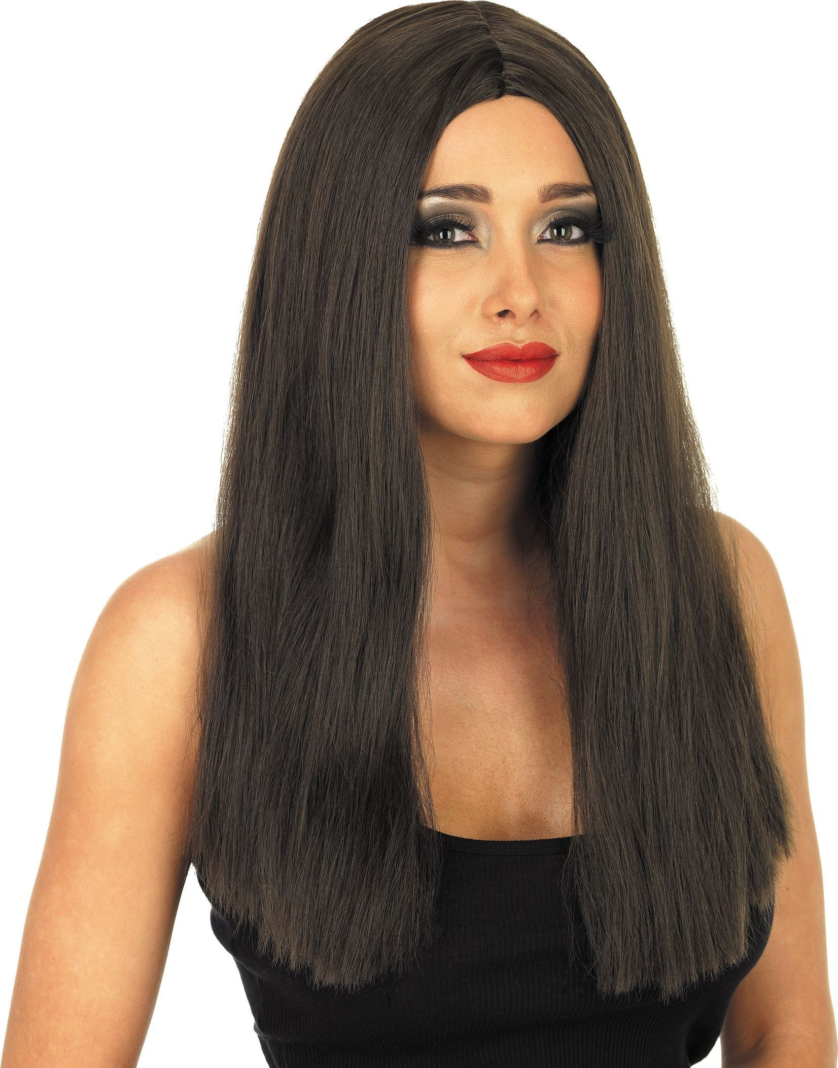 Long Brown Wig (Fancy Dress Wigs)