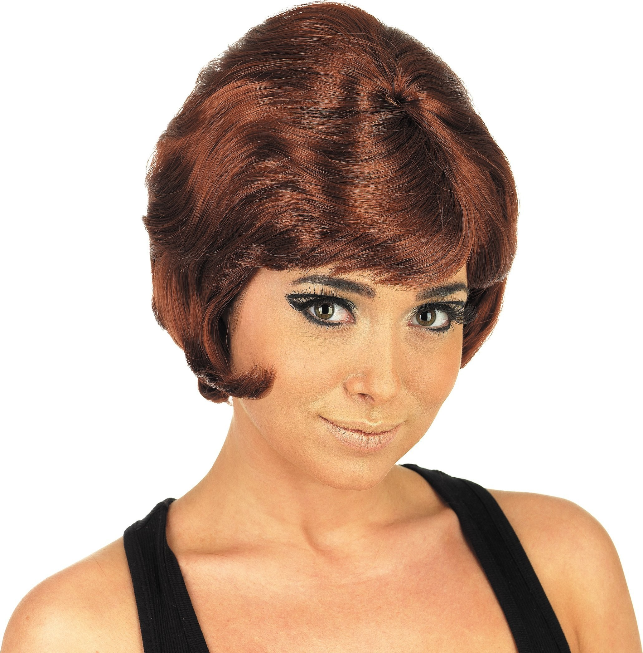 Auburn Beehive Wig (1960S Fancy Dress Wigs)