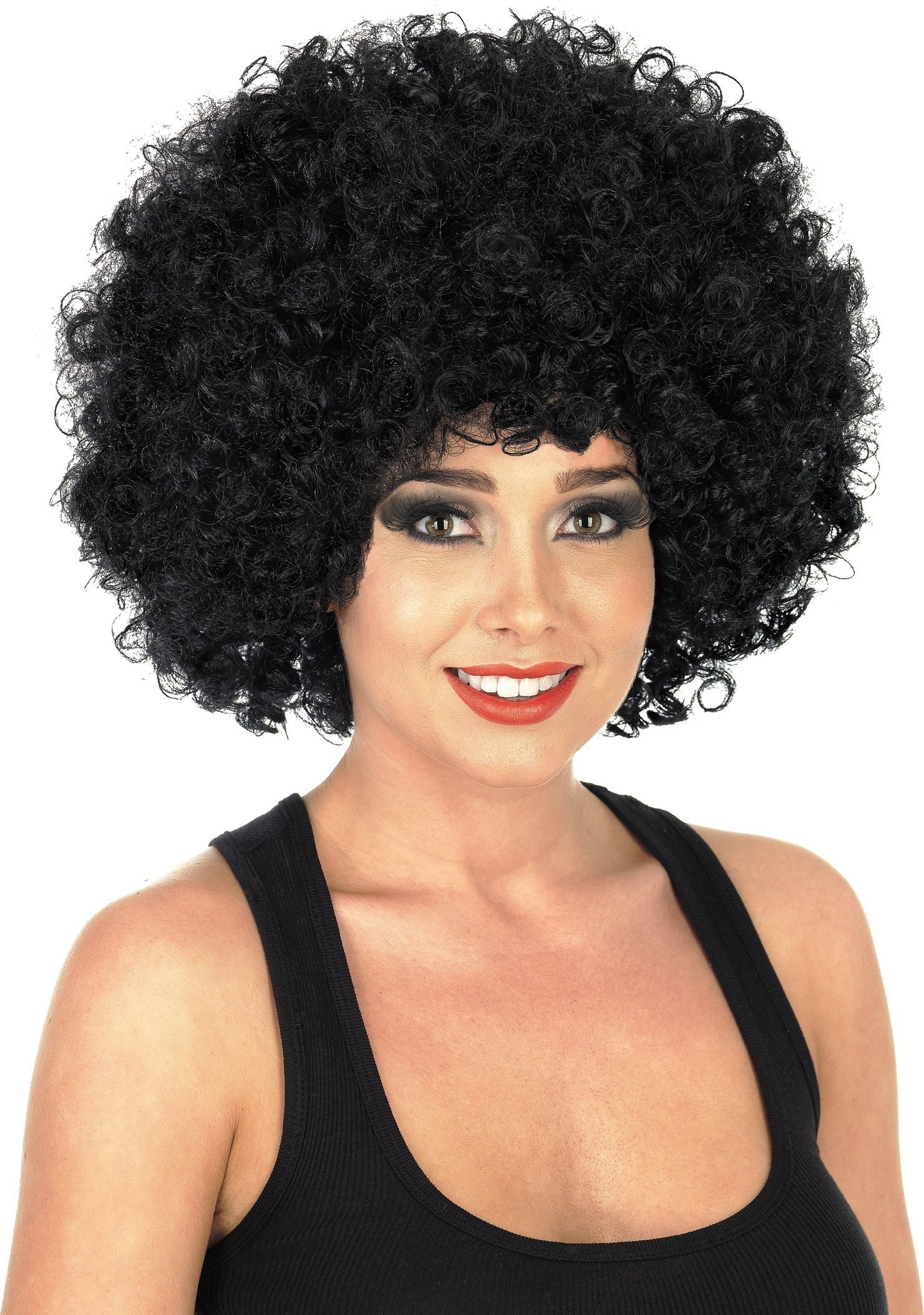 Black Afro Wig (1970S Fancy Dress Wigs)