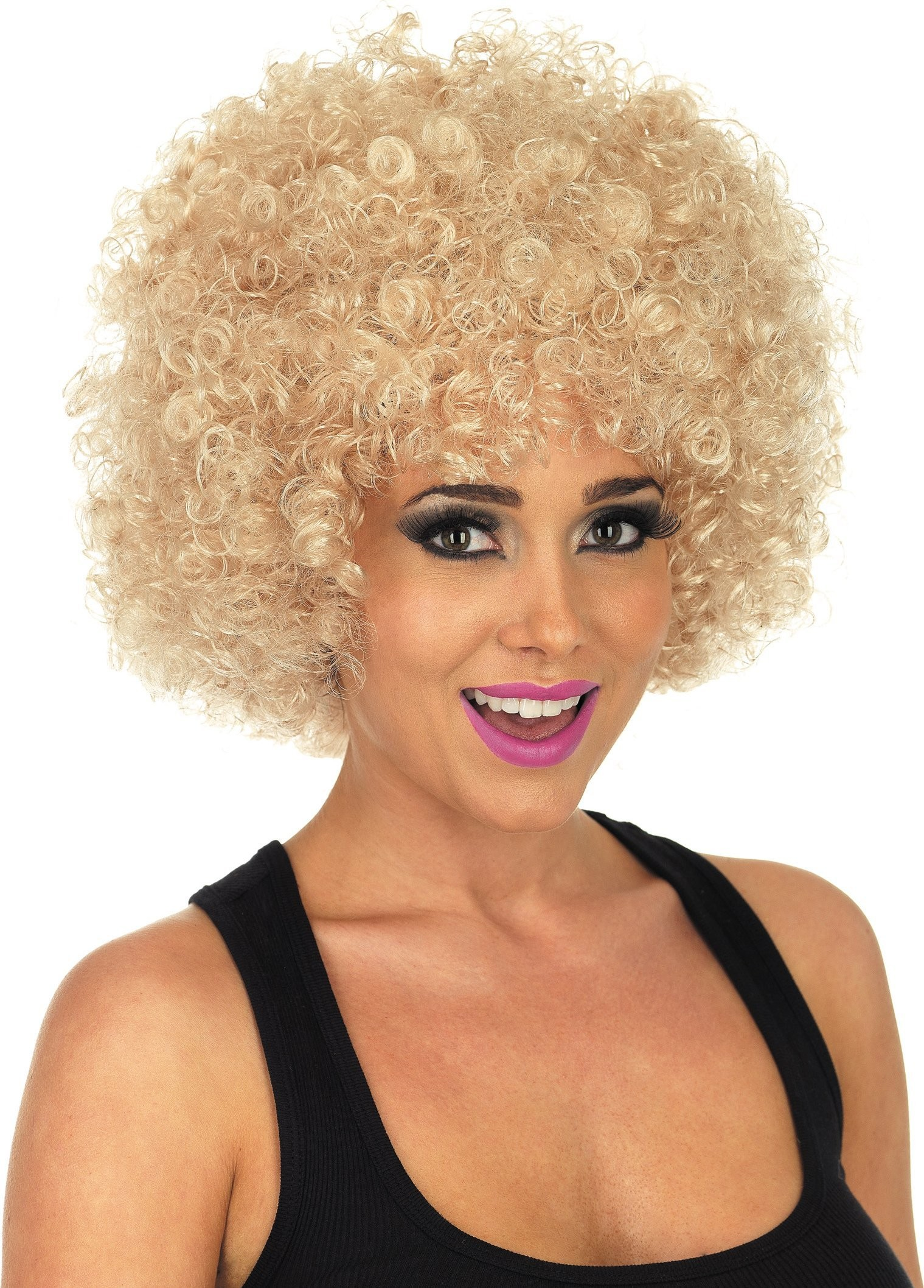 Blonde Afro Wig (1970S Fancy Dress Wigs)
