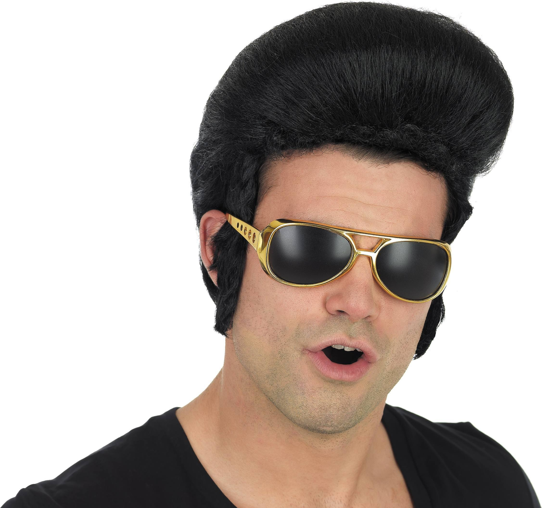 Pop King Wig (1980S Fancy Dress Wigs)