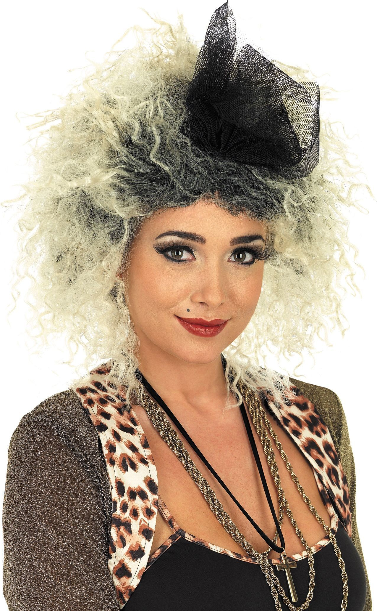 80S Pop Star Wig (1980S Fancy Dress Wigs)