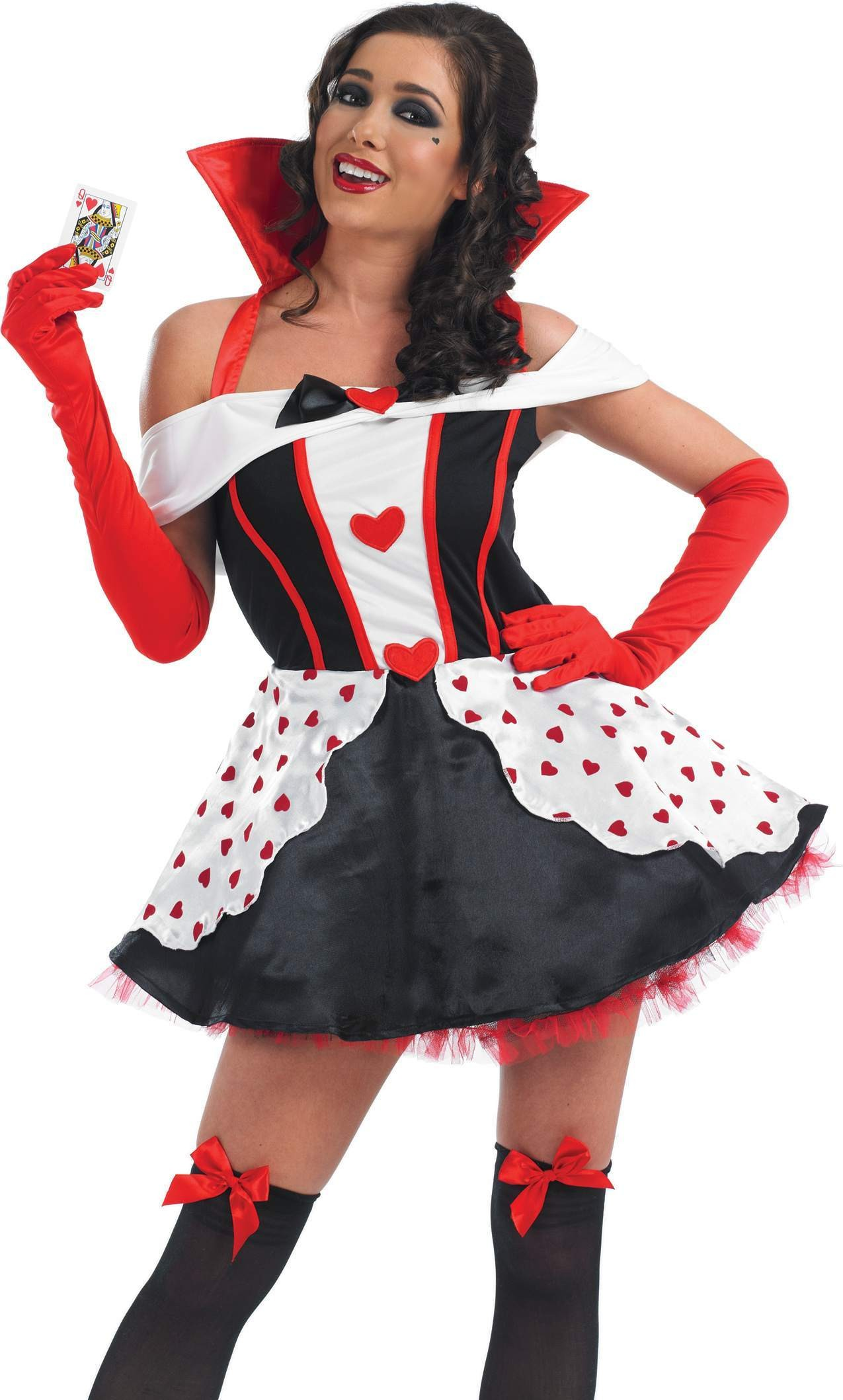 Queen Of Hearts Fancy Dress Costume