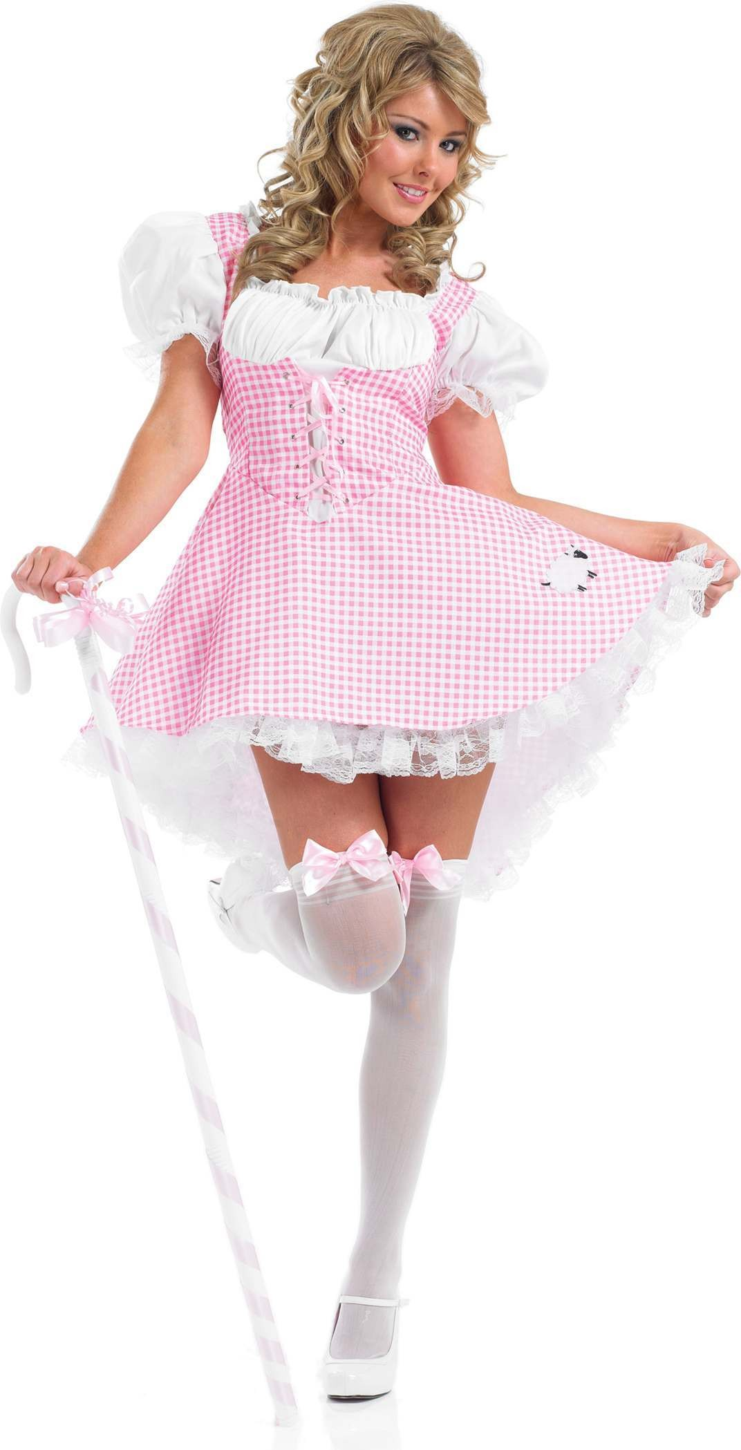 Miss Bo Peep Fancy Dress Costume