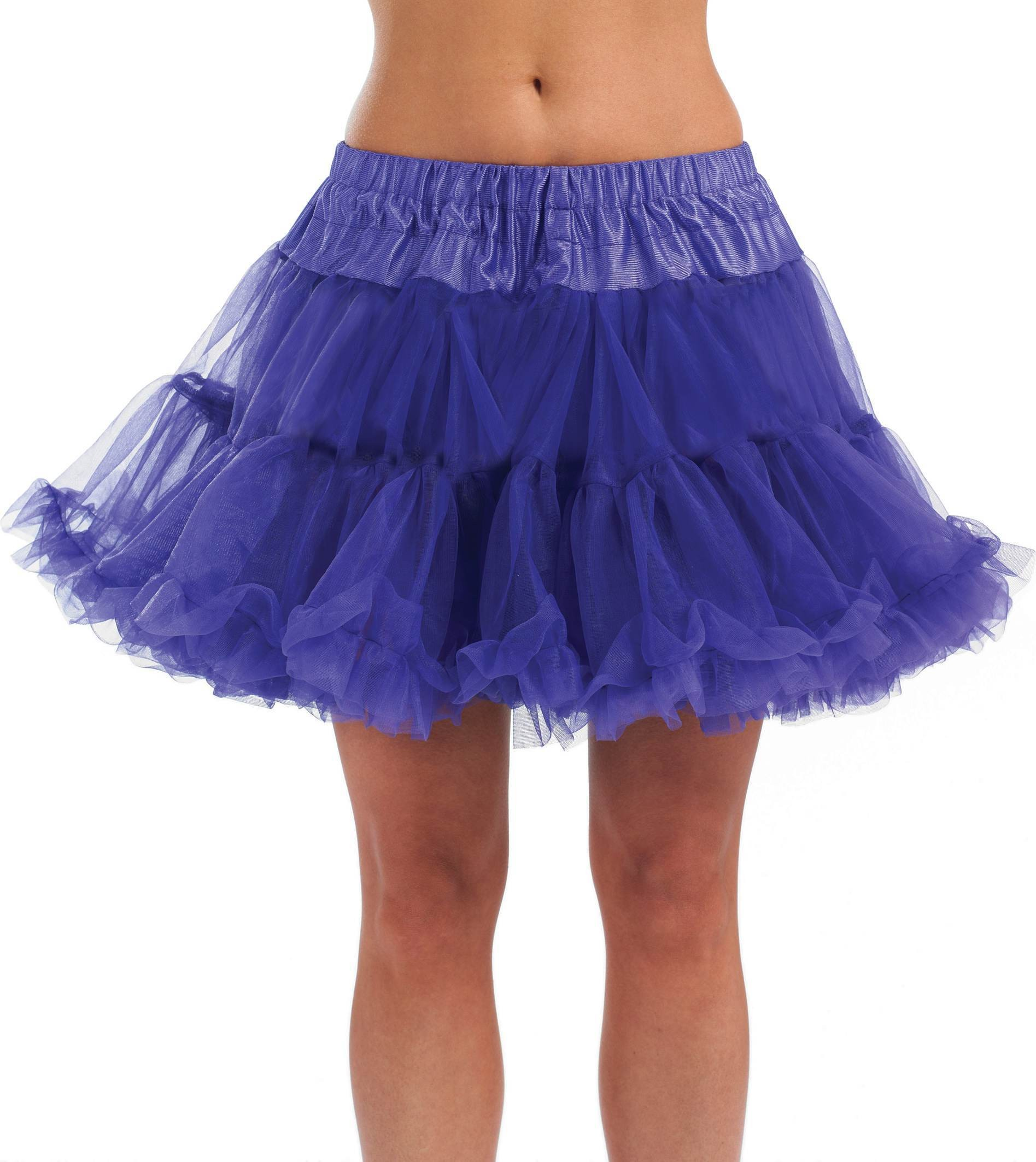 Deluxe Purple Tutu (1980S Fancy Dress)