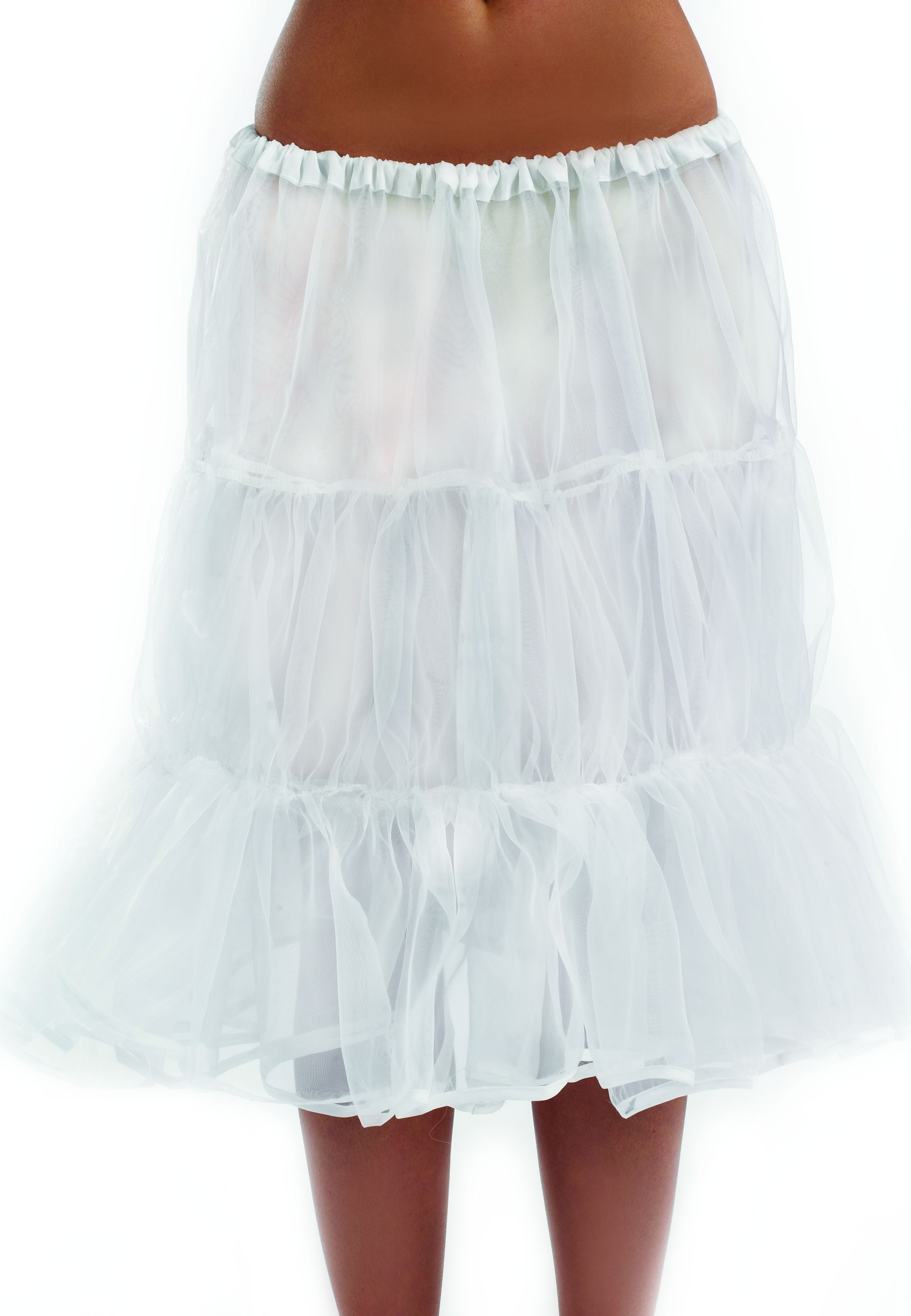 Long White Underskirt (Christmas Fancy Dress)