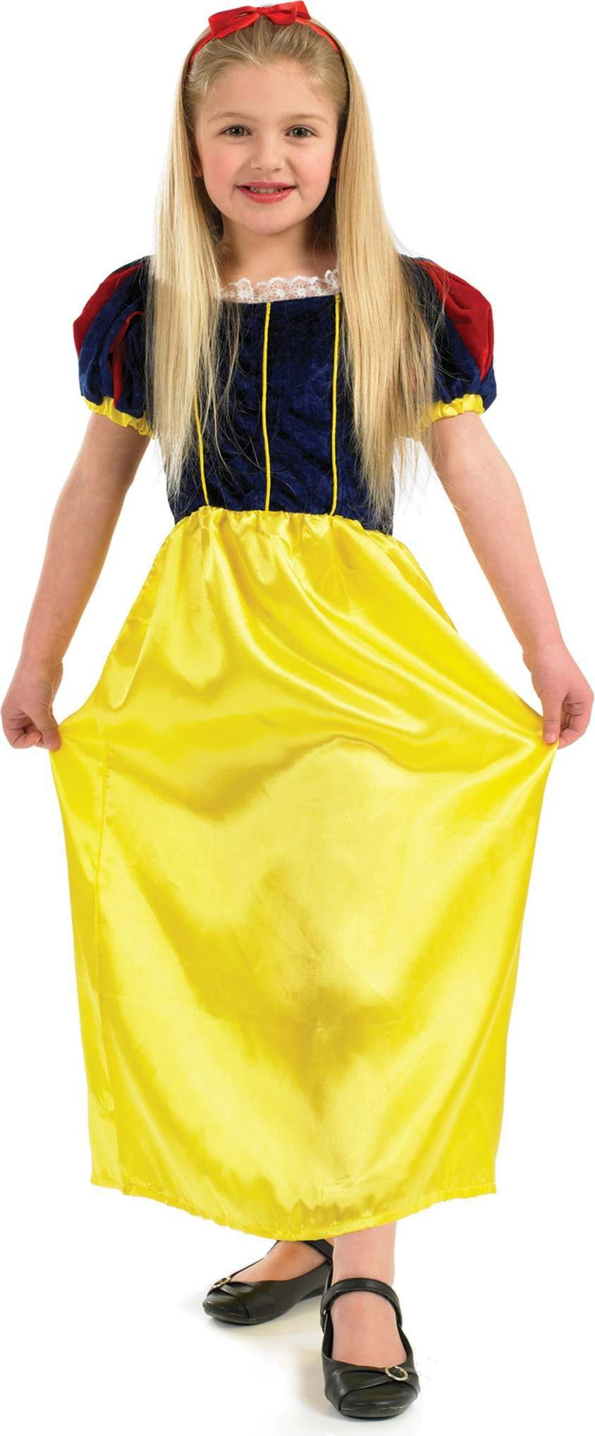 Snow White Girl Fancy Dress Costume