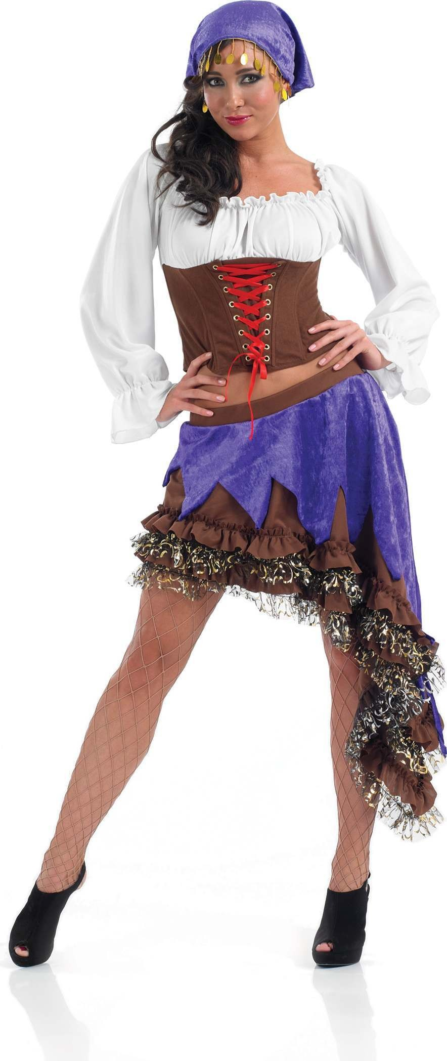 Gypsy Queen Fancy Dress Costume