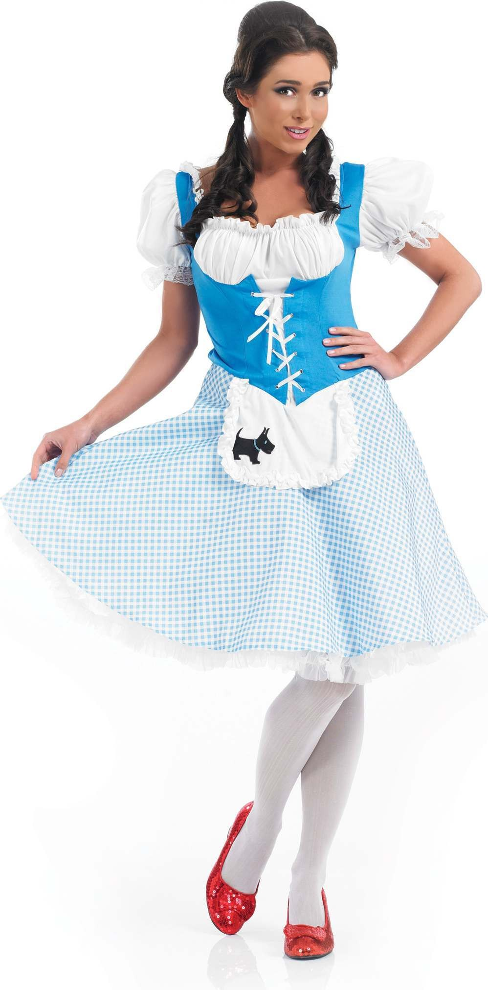 Longer Length Dorothy Fancy Dress Costume