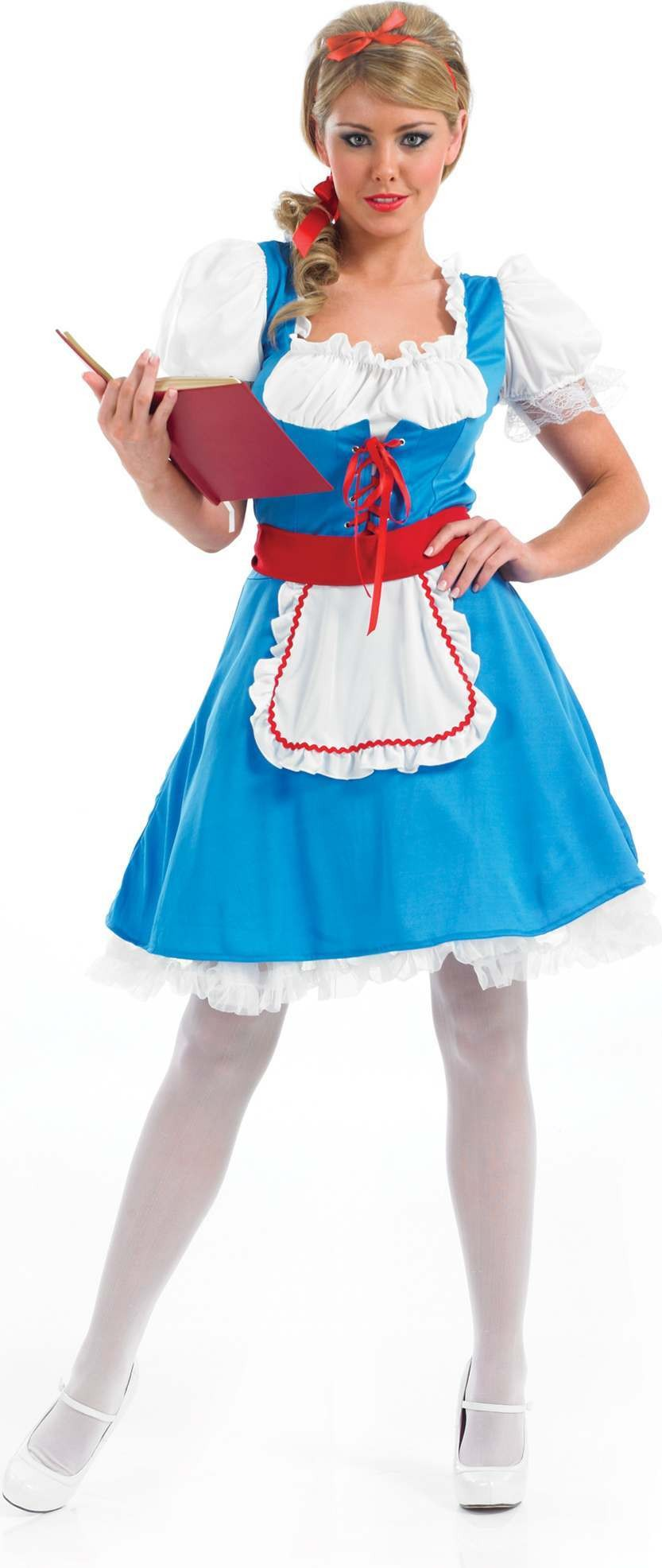 Longer Length Alice Fancy Dress Costume
