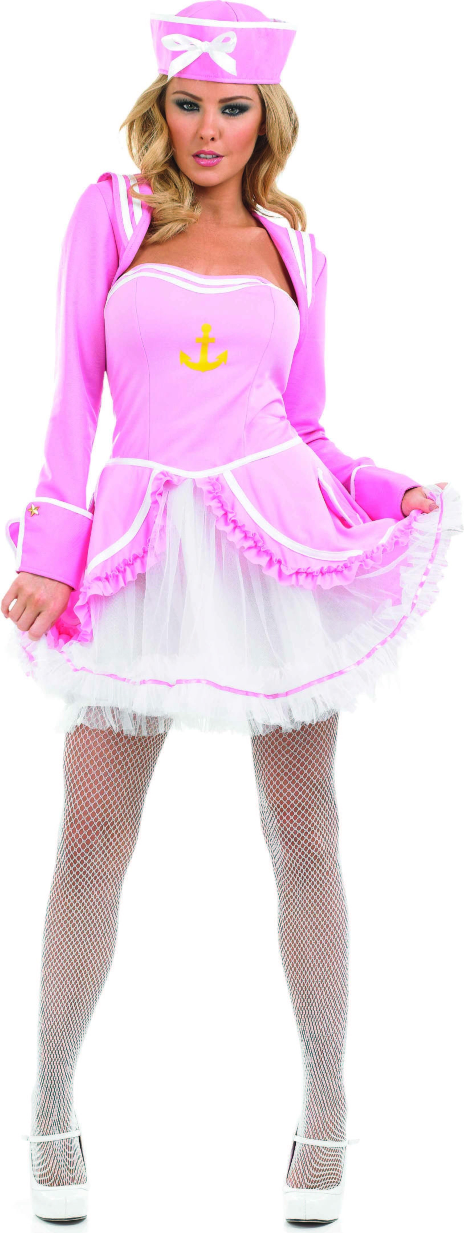 Ladies Pink Tutu Sailor Girl Tutus - (Pink)