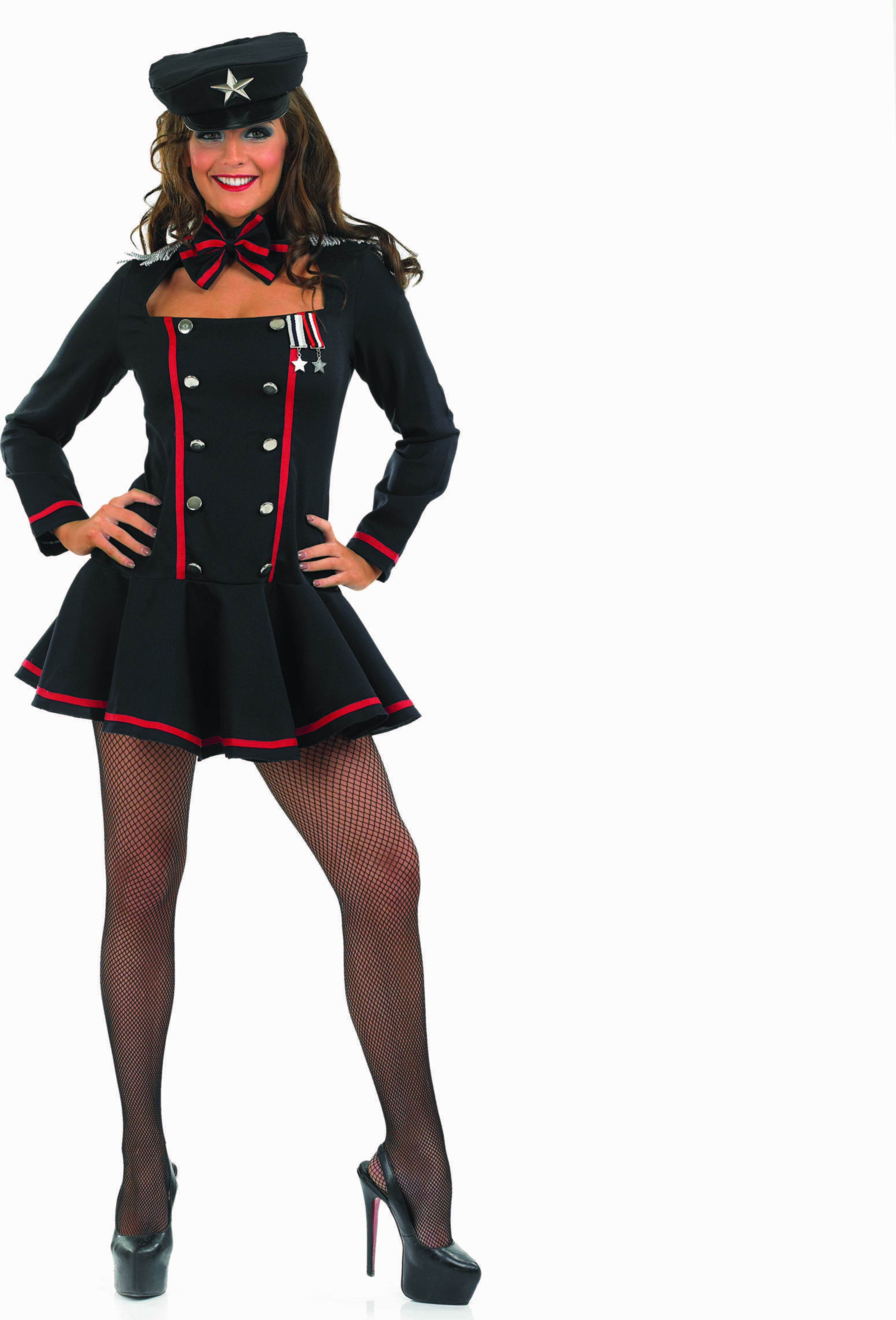 Ladies Commander In Chief Sailor Outfit - (Black)