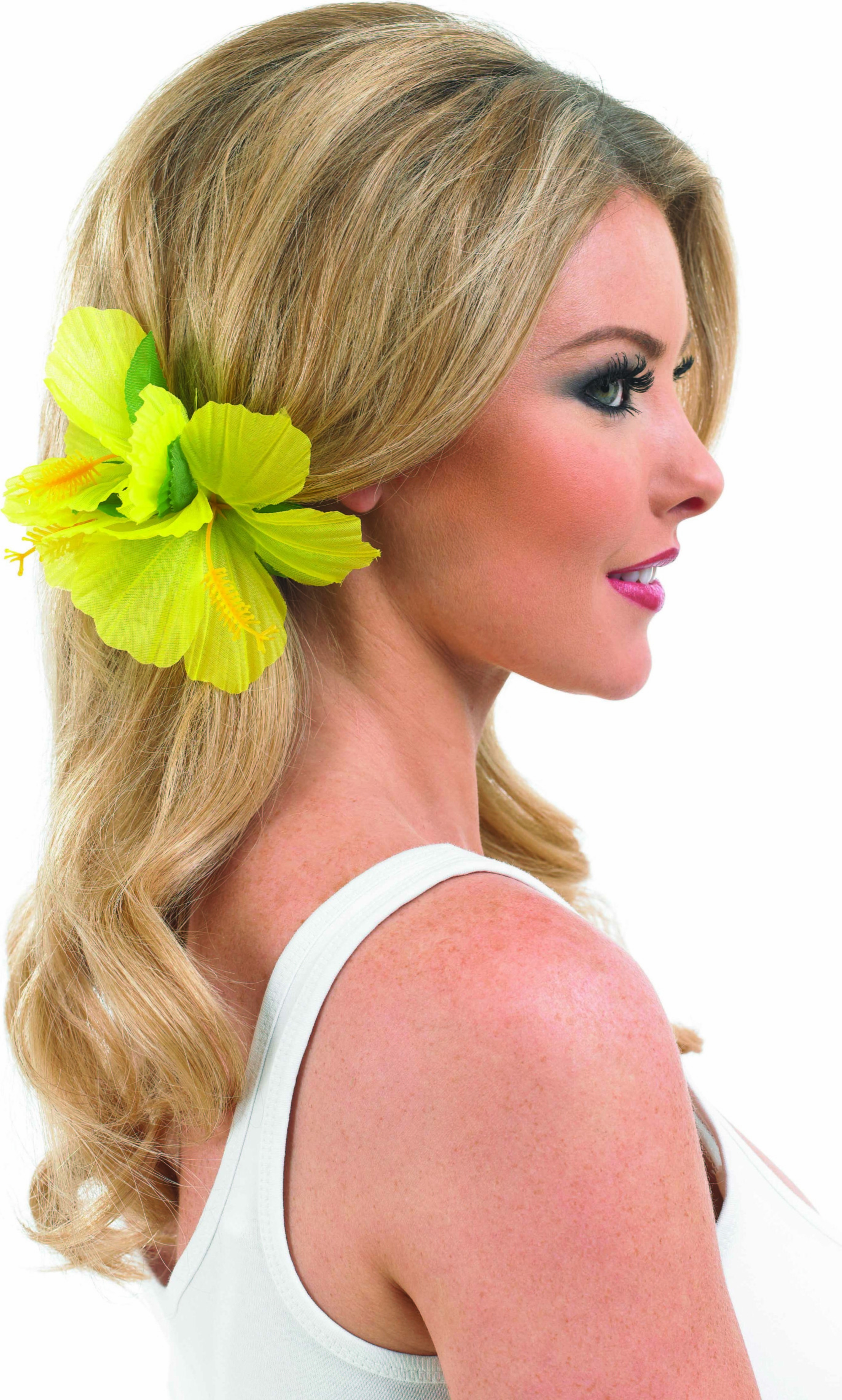 Yellow Flower Hairclip Accessories