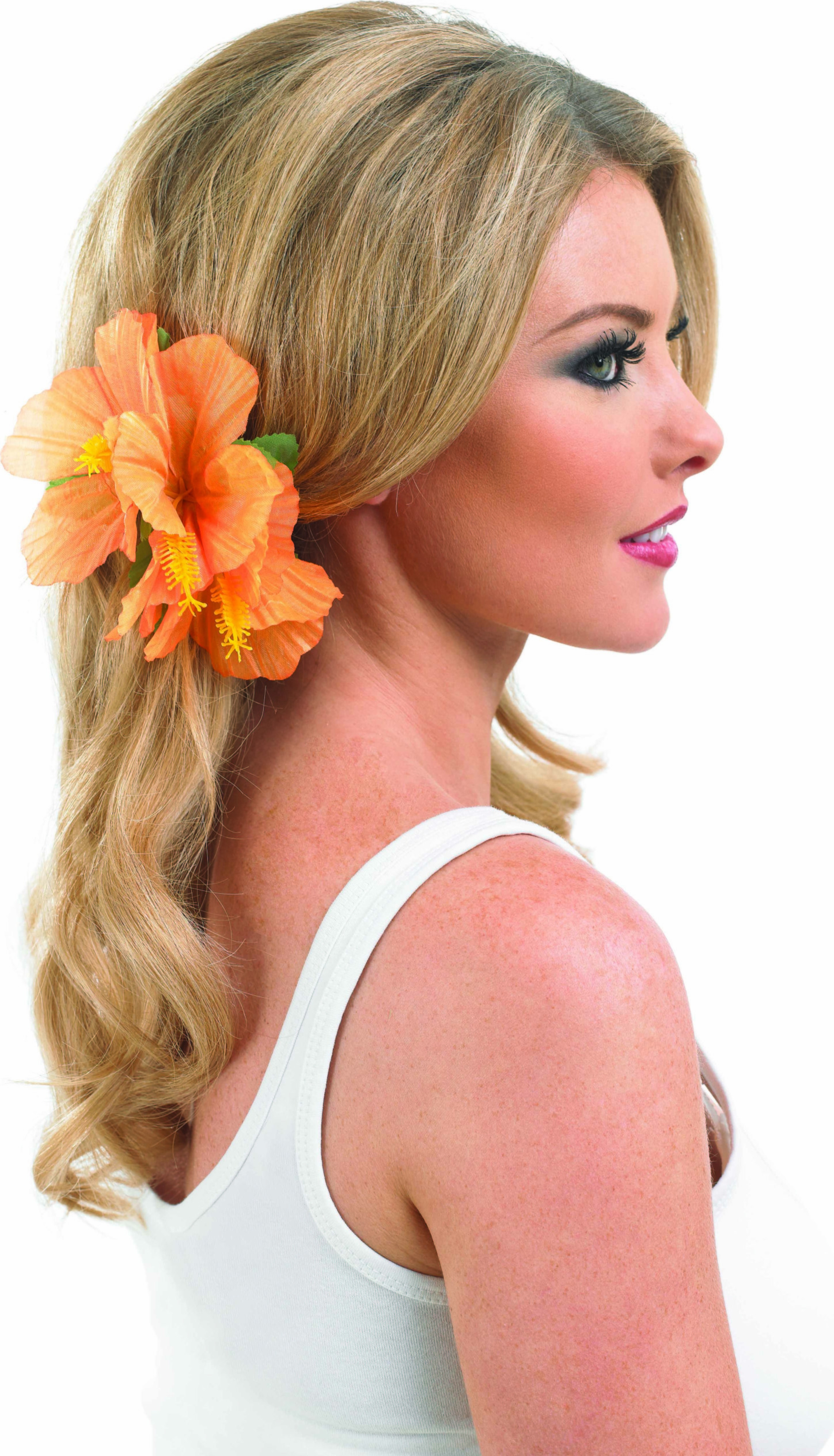 Orange Hairclip Accessories