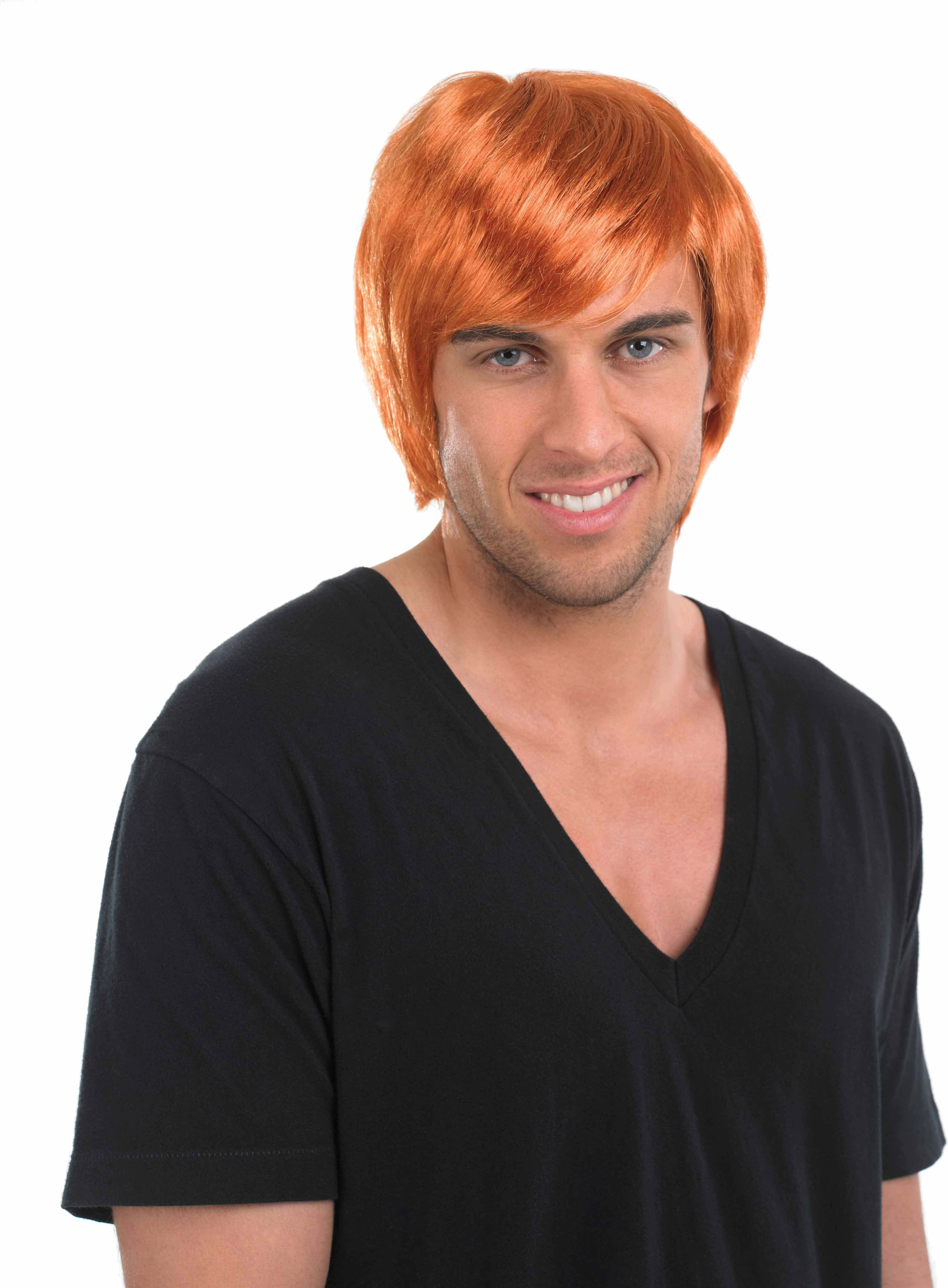 Ginger Boy Band Wig Wigs