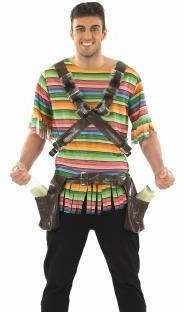 Mens Mad Mexican Mexican Outfit (Multicolour)