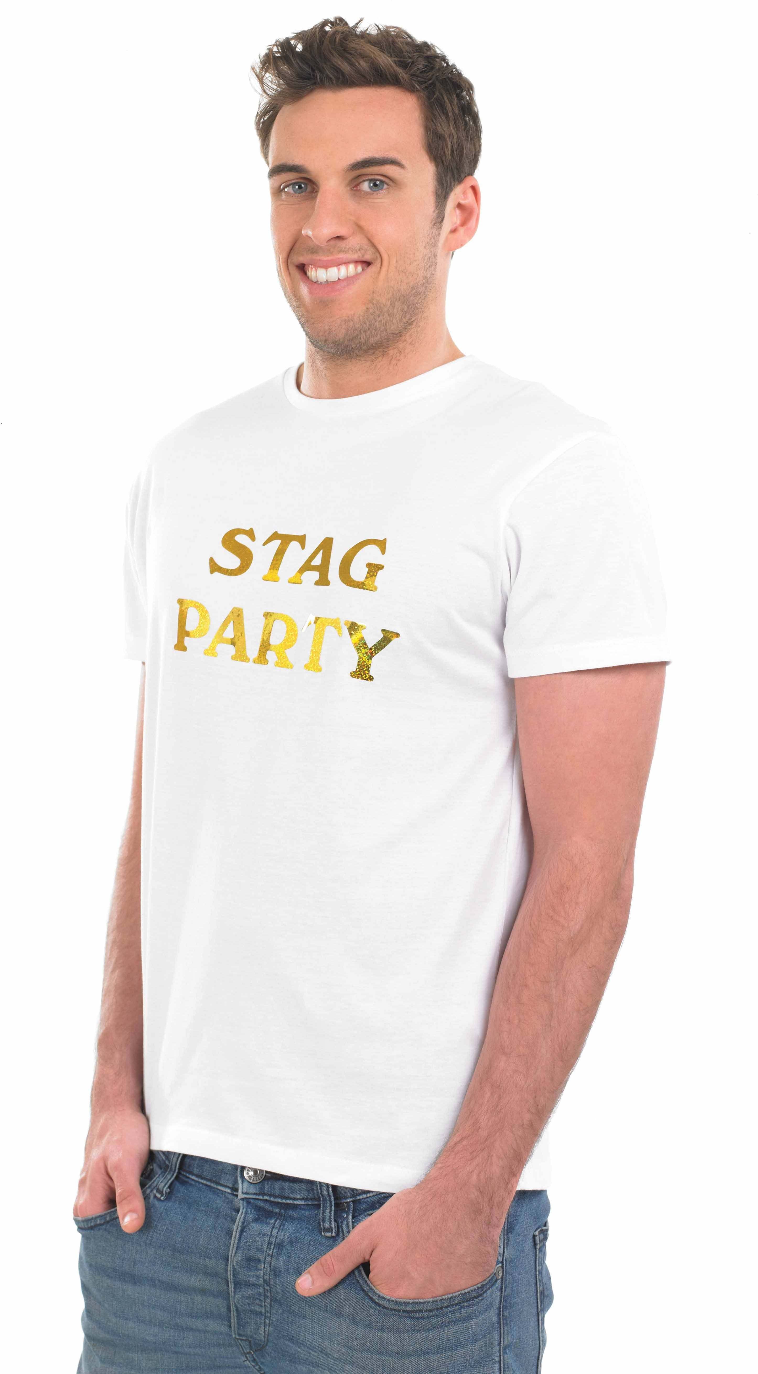 Stag Party Iron On Transfer Accessories