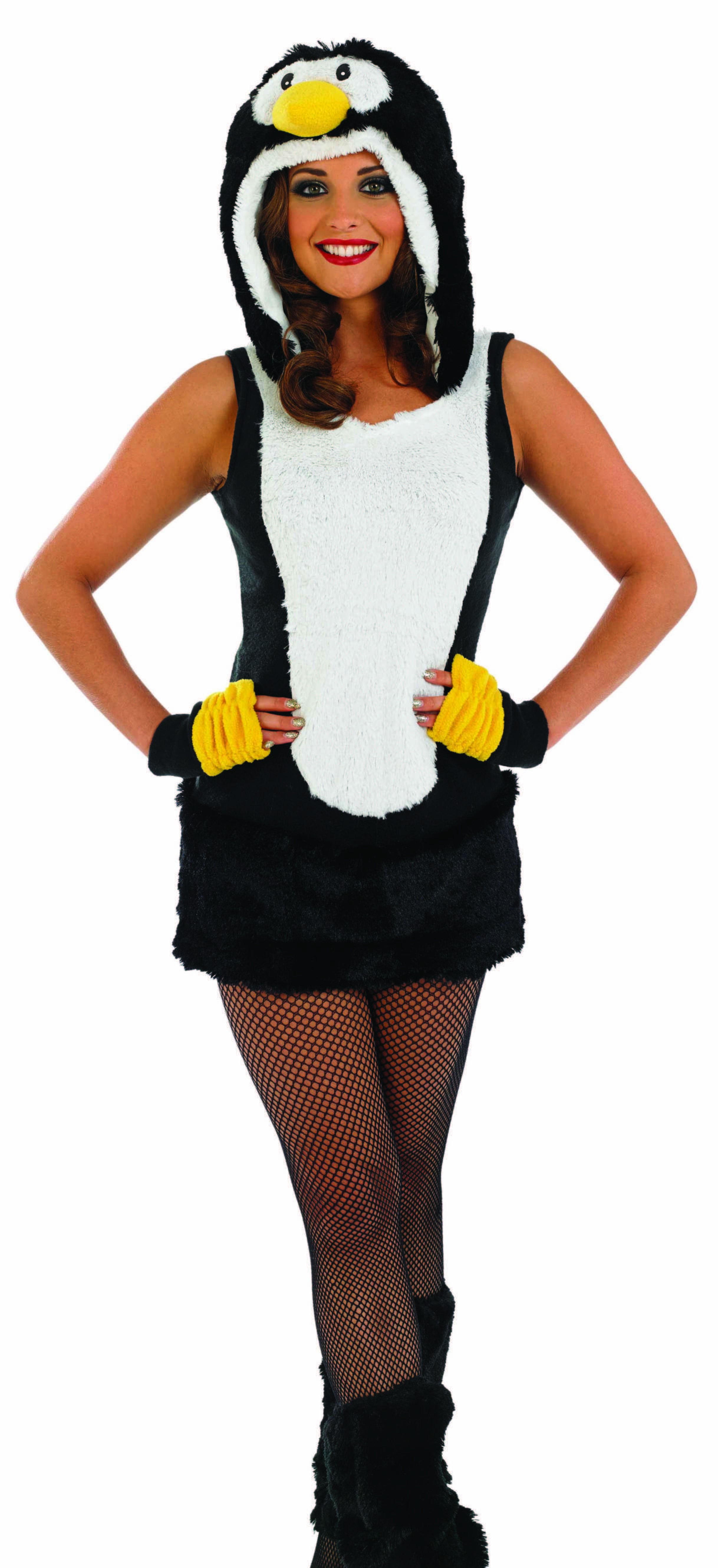 Ladies Penguin Outfit Costume