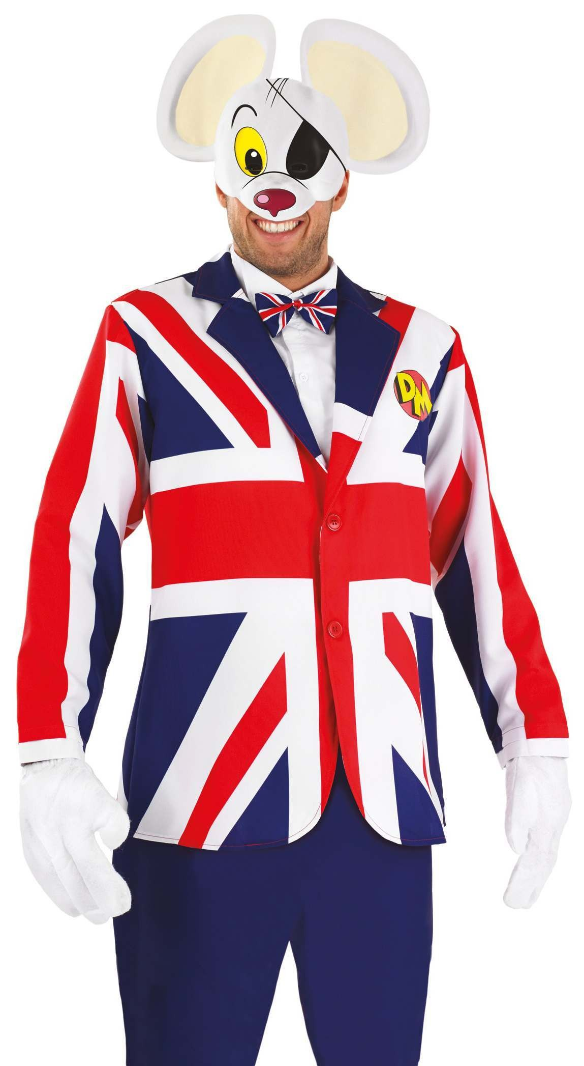 Mens Great British Danger Mouse Costume