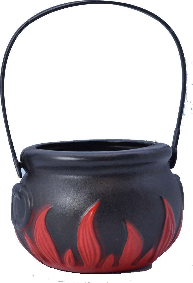 Witch Cauldron With Flame- Fancy Dress Halloween