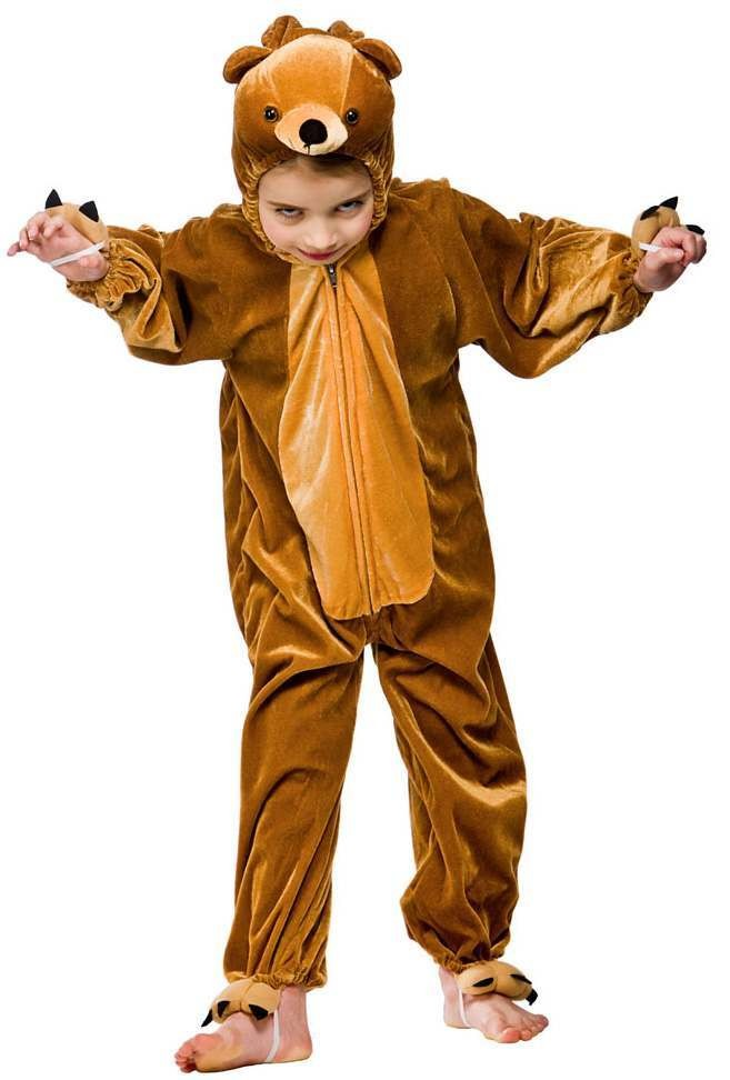 Kids Bear Fancy Dress Costume