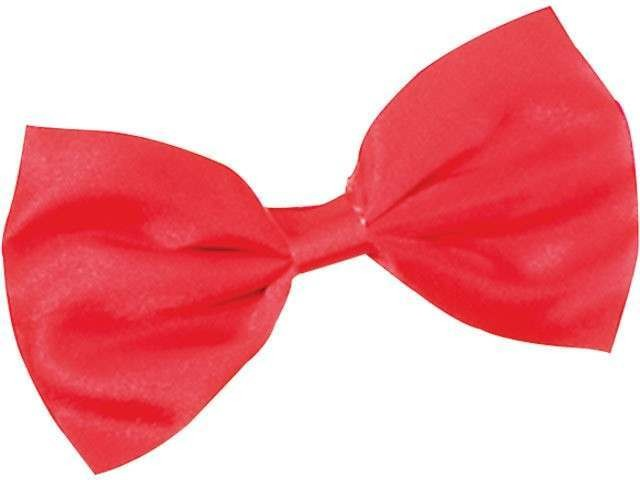 Bow Tie. Small Red Budget (1920S Fancy Dress)
