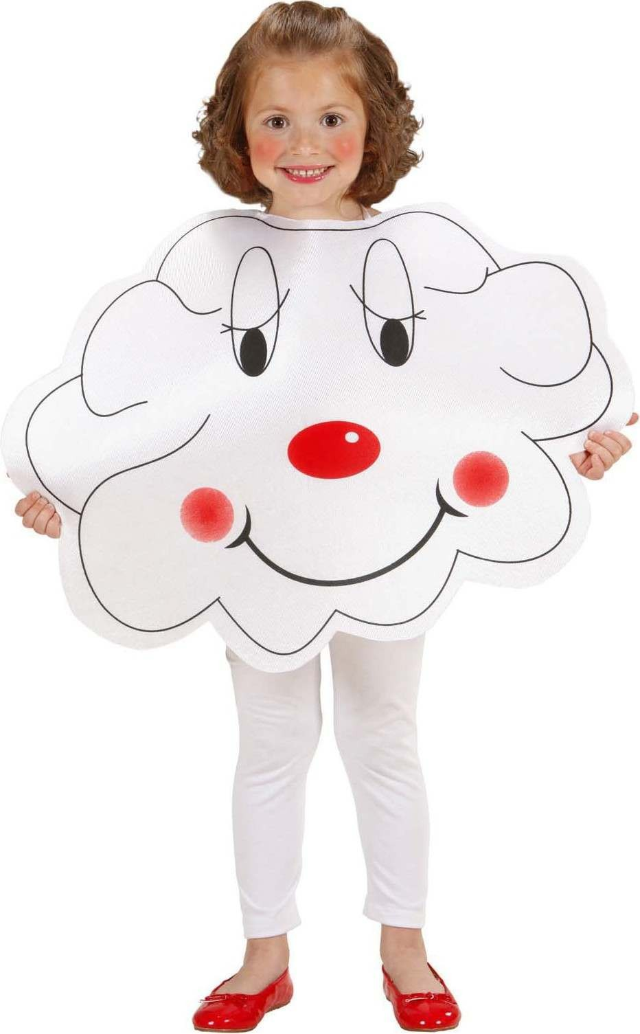 Girls Cloud Tabard Cloud Outfit - (White)