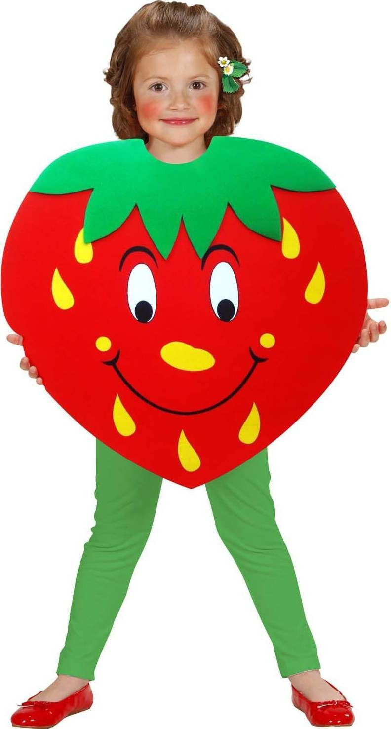 84cdb1e6c338 Buy Girls Strawberry Tabard Food Outfit - (Red) - Largest online ...