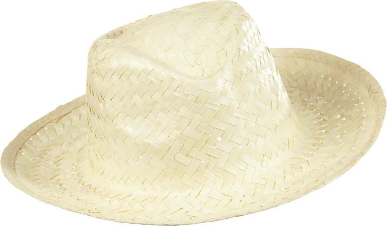 Boys Cowboy Hat Straw - White Hats - (White)
