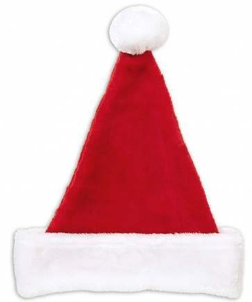 Festive Adult Plush Santa Claus Party Hat