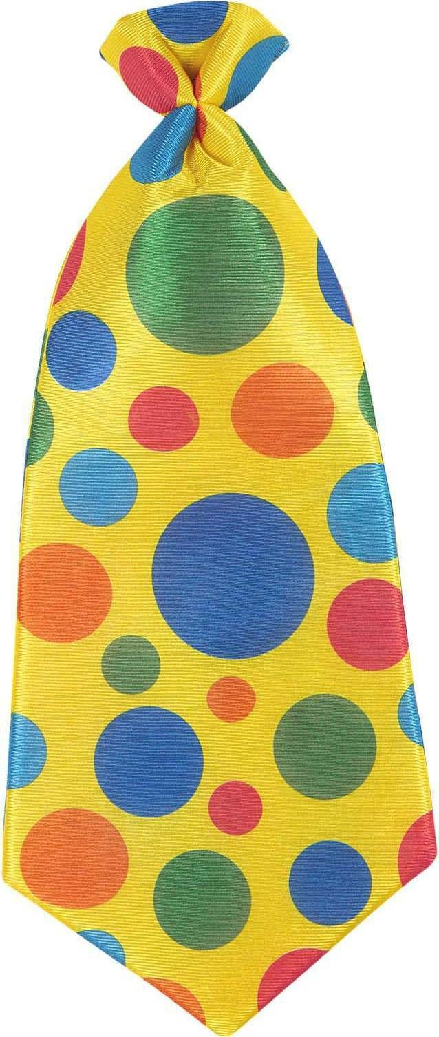 Mens Maxi Clown Tie Accessories - (Multicolour)