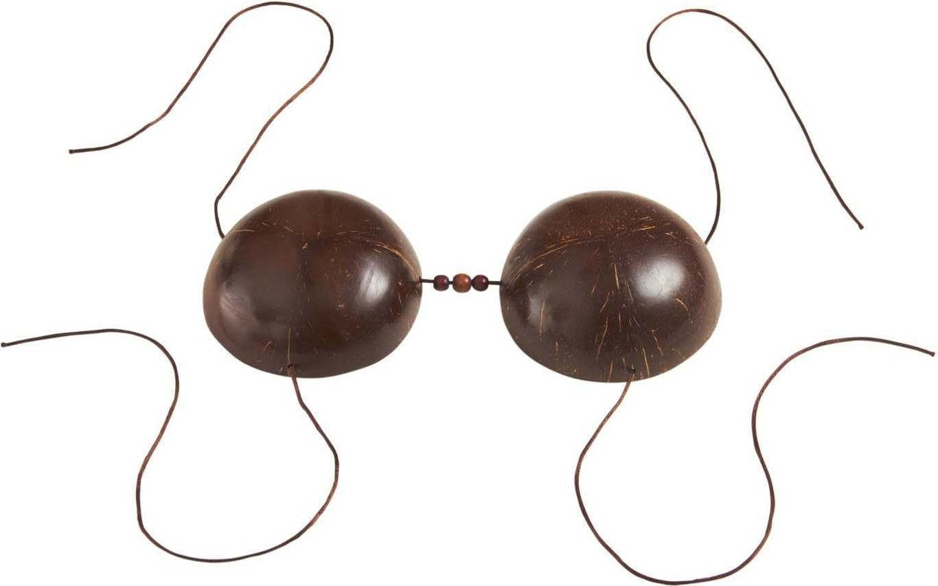Ladies Coconut Bra Accessories - (Brown)