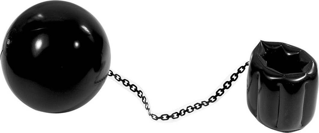 Inflatable Balls And Chain 25Cm Inflatables