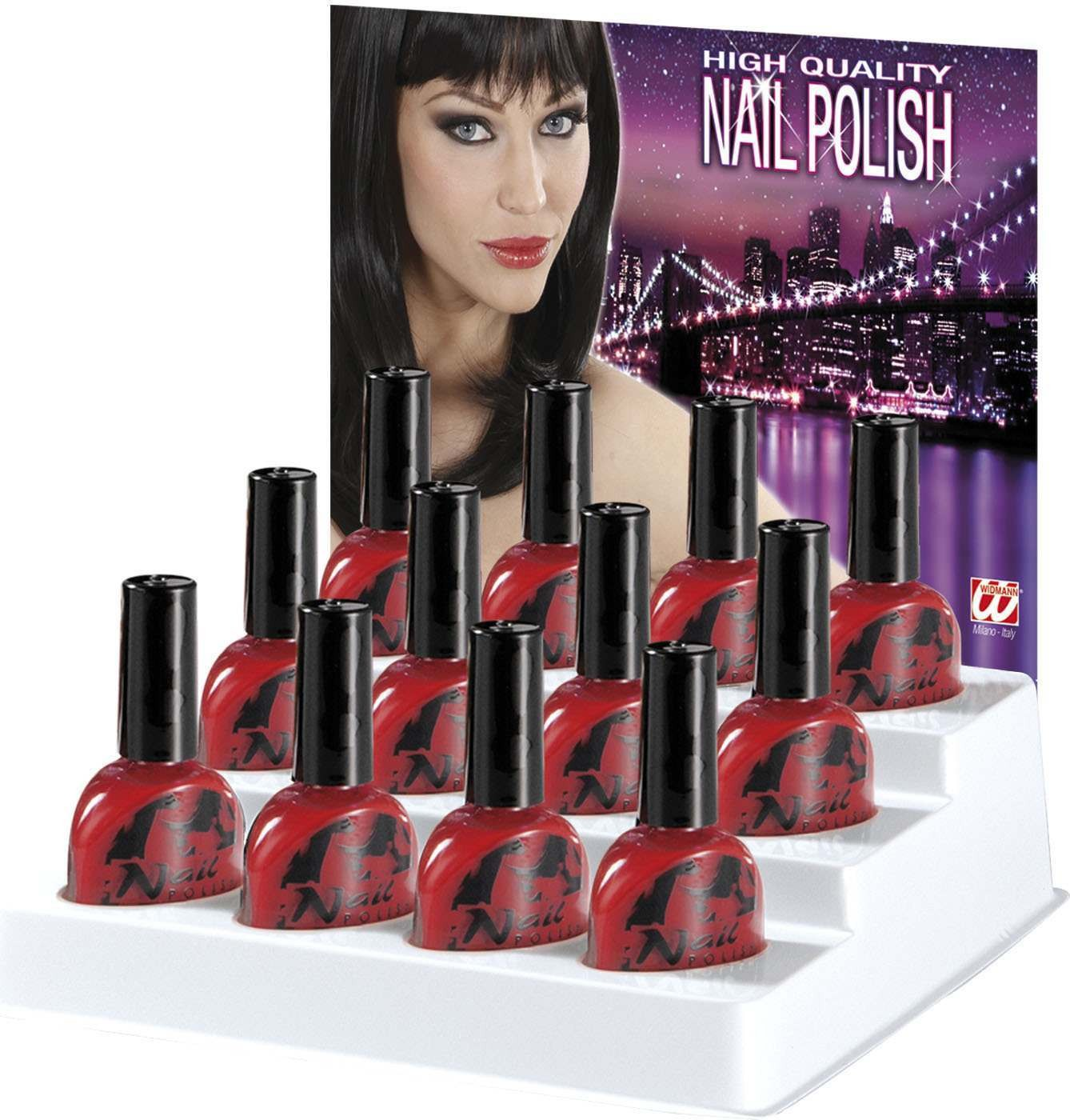 Ladies Nail Polish 7Ml - Red Makeup - (Red)