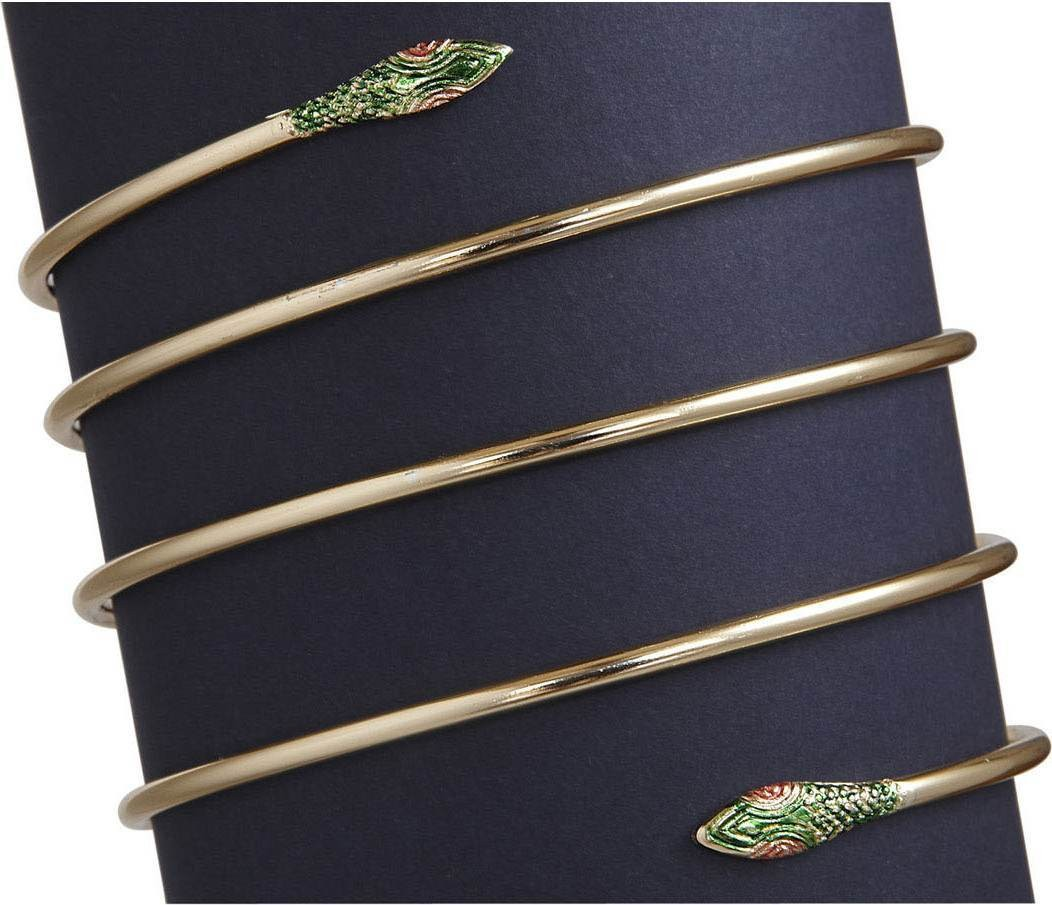 Ladies Snake Armbands Jewellery - (Gold)