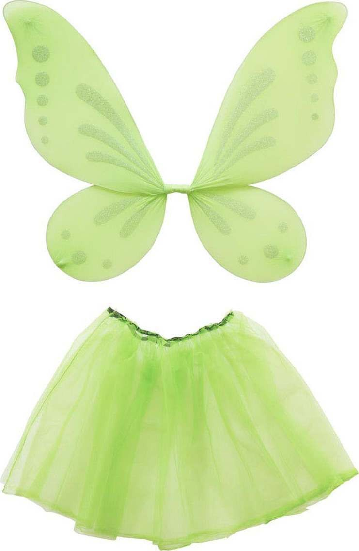Ladies Forest Fairy Dress Up Set - Adult Accessories - (Green)