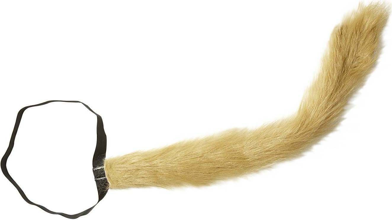 Bendable Plush Lion Tail Accessories