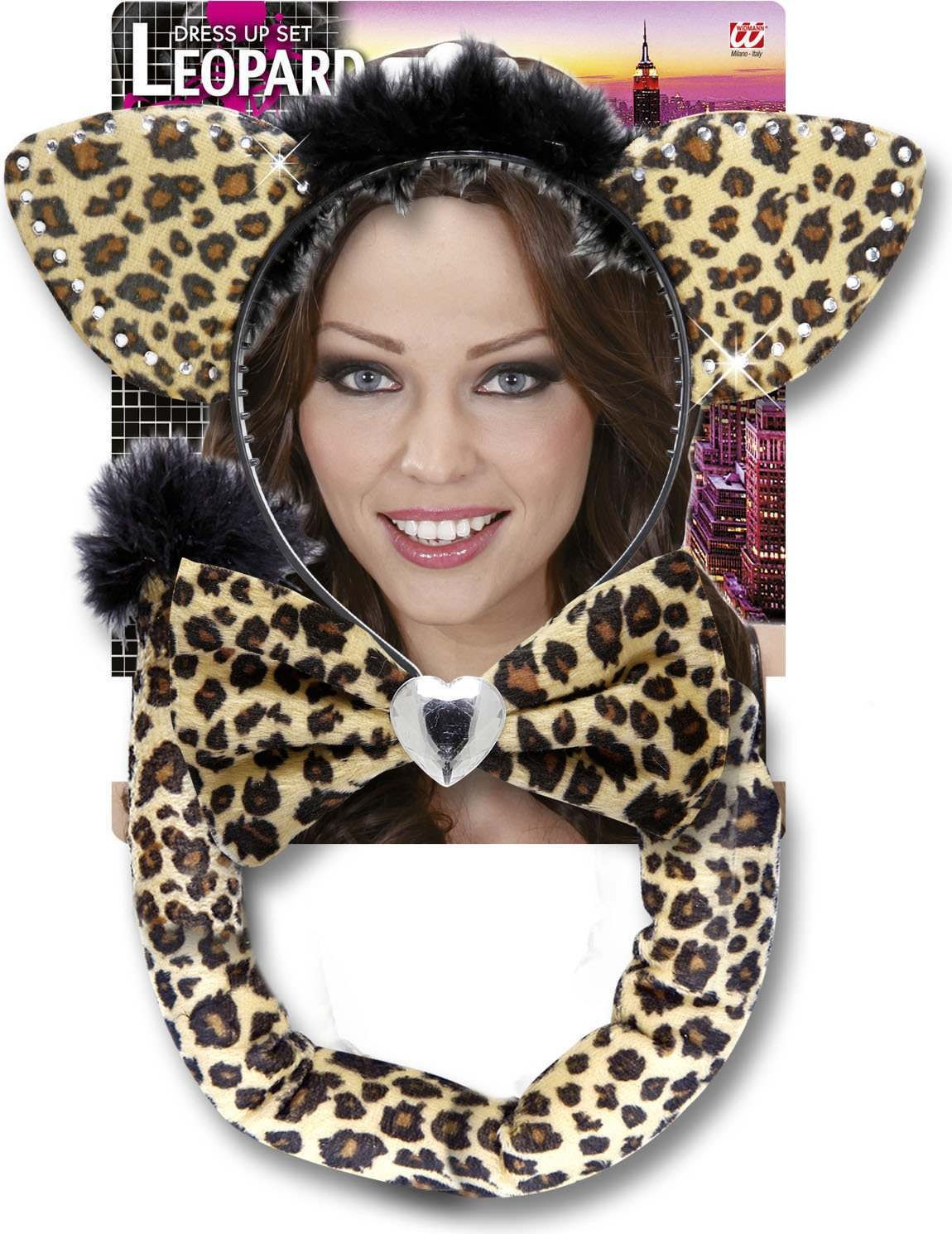 Leopard Dress Up Sets Accessories