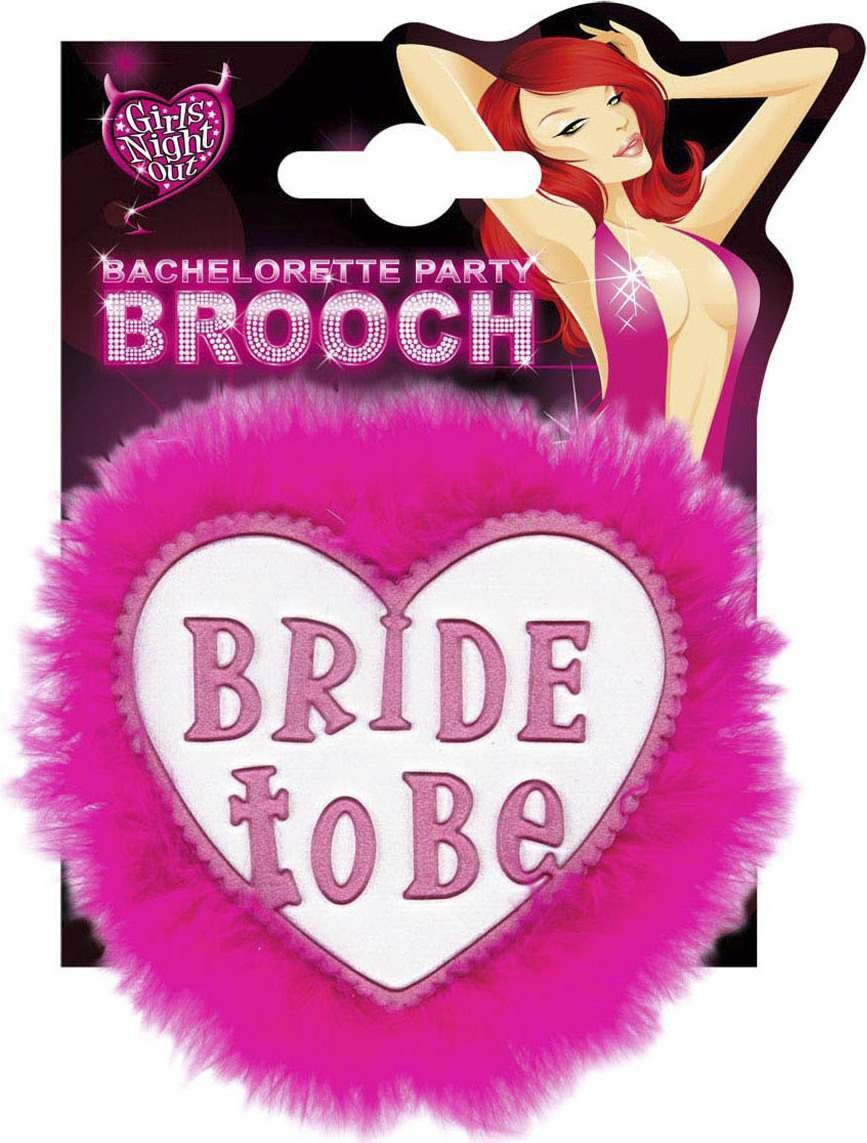 Bride To Be Brooches - White Jewellery